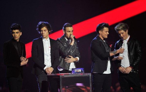 1D no Brit Awards 2013