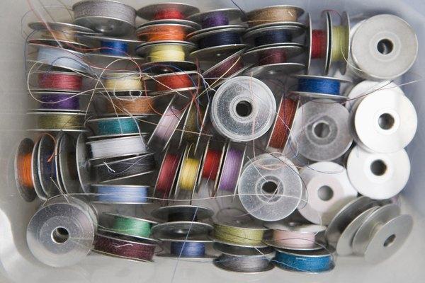 El primer tipo de hilo fue de fibra de lino.