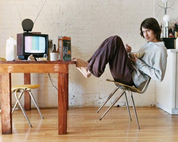 Antes de la televisión de plasma existían aparatos enormes.