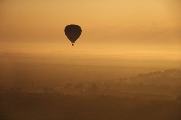 Hot air is the most efficient means of lighter-than-air transport.