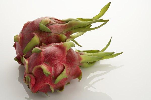 """La pitahaya roja también es conocida como """"fruta del dragón""""."""
