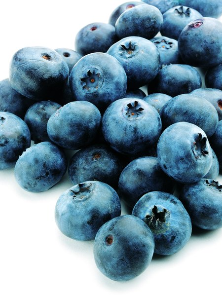 Make nutrient-rich dog treats with blueberries.