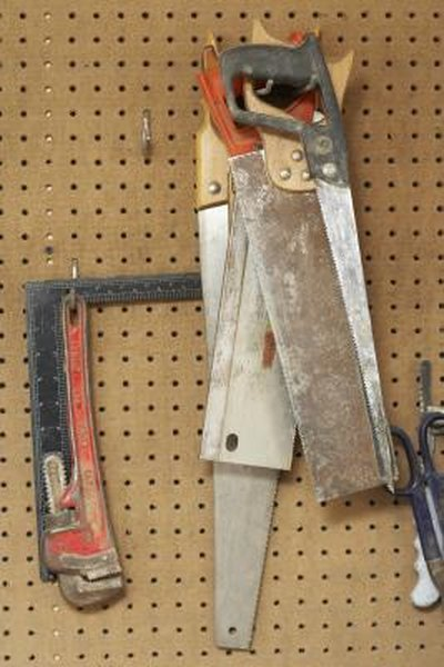 How To Build A Garden Tool Hanging System