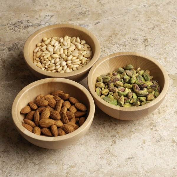Nuts are a nutrient-rich snack.