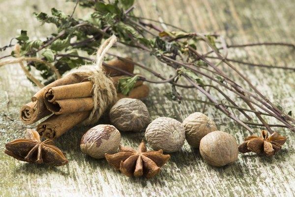 Canela e noz-moscada apresentam propriedades anti-inflamatórias