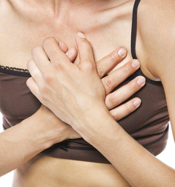 Os cistos mamários causam dor
