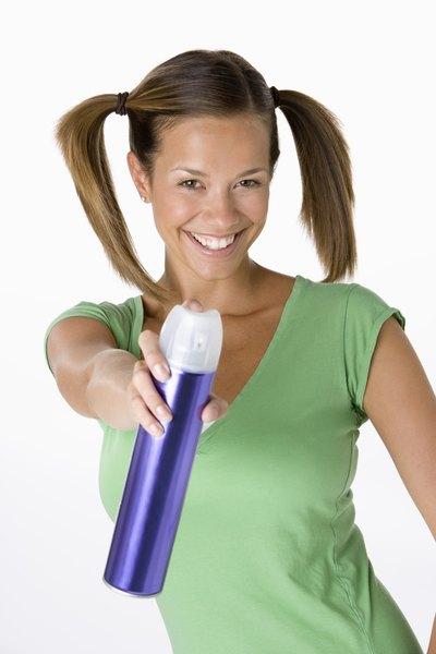 Getting Hairspray Residue Off Of The Floor