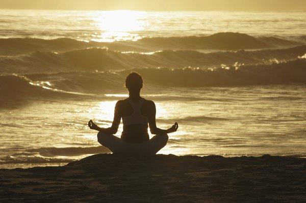Meditação junto ao mar