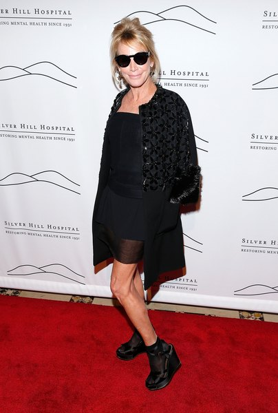 Lisa Jackson na festa do Silver Hospital em Nova York