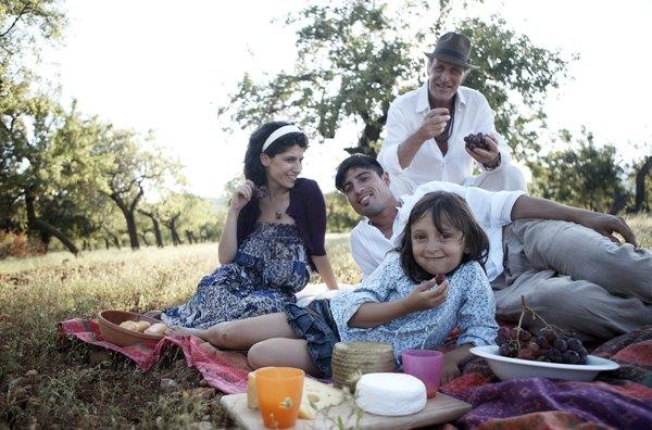 Coma de forma saudável com a sua família