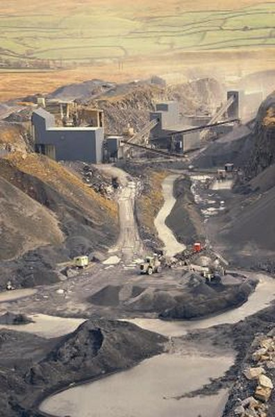 Investing in mining is a less volatile way to invest in gold, silver and other natural materials.
