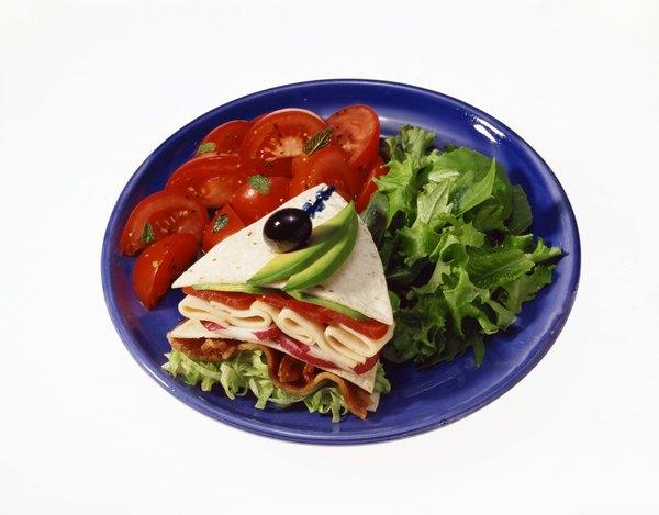 O sanduíche natural vegetariano é uma receita nutritiva fácil de preparar