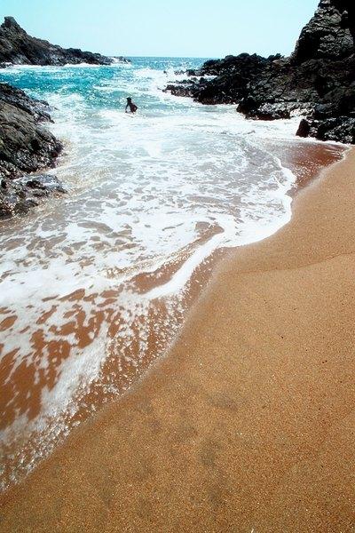 Vista de la Playa Zipolite.