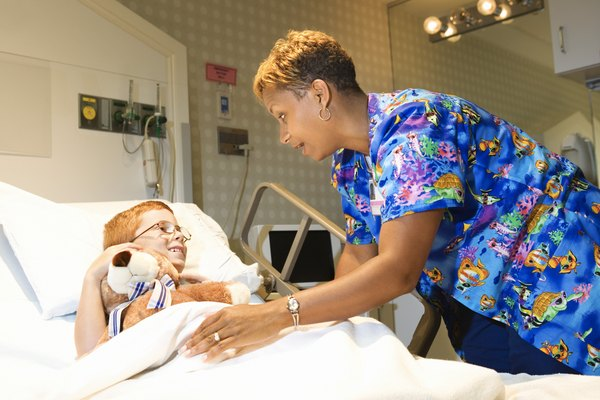 Education Needed to Be a Pediatric Nurse - Woman