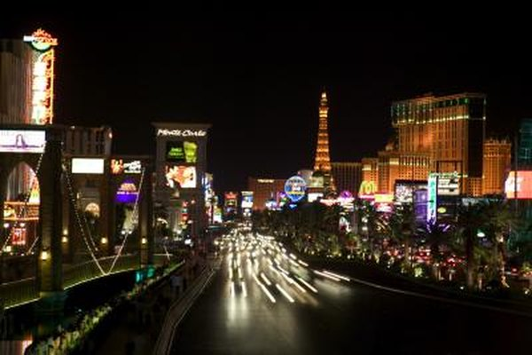 The Las Vegas Strip has some of the world's largest casinos.