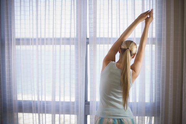 Faça alongamentos antes e depois do exercício