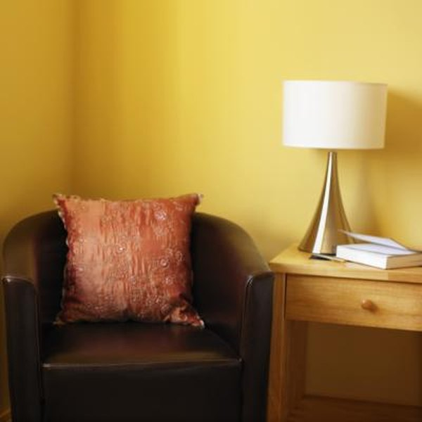 What Drapes Go with Yellow-Gold Walls? | Home Guides | SF Gate