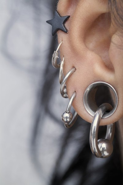 How To Hide An Earring For An Interview Woman