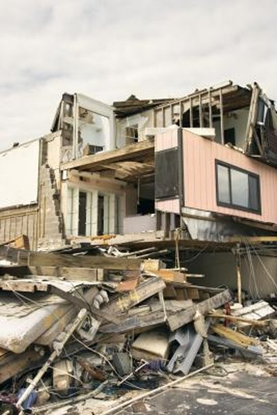 Homeowner's insurance proceeds can replace your destroyed house.