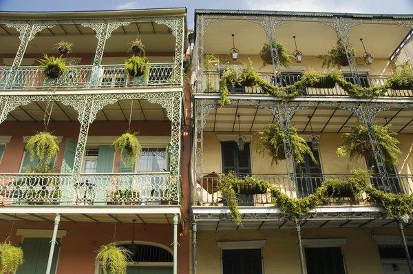 """As varandas de ferro icônicas tornam """"Nova Orleans"""" conhecida em todo o mundo"""