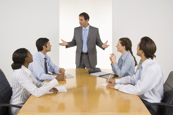 A colaboração é um ponto importante em reuniões de negócios