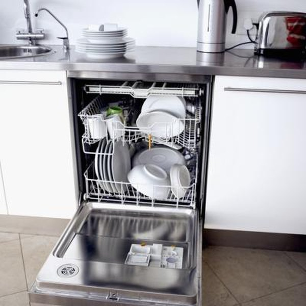 How to Remove Sitting Water From a Dishwasher With No Drain