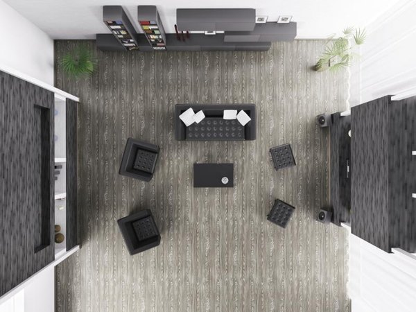 What Color Coffee Table Goes With Black Wooden Furniture