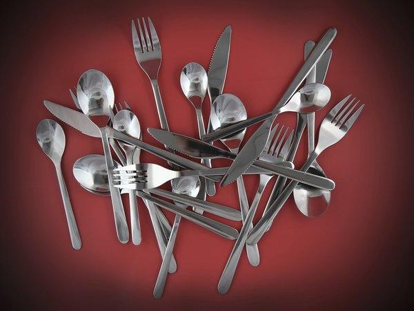 Existen utensilios de cocina en muchos colores.