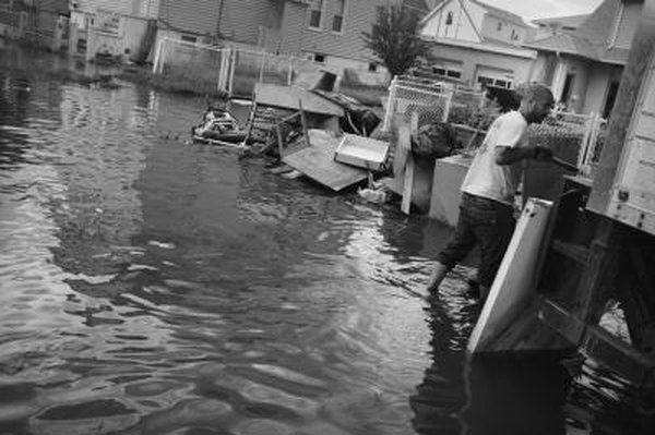 Hurricane damage, such as that in New Jersey in August 2011 from Irene, pushes up homeowner's insurance premiums.