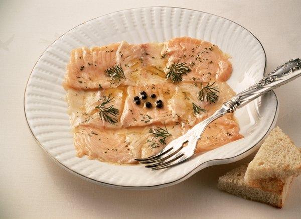 Gravlax - um prato nórdico