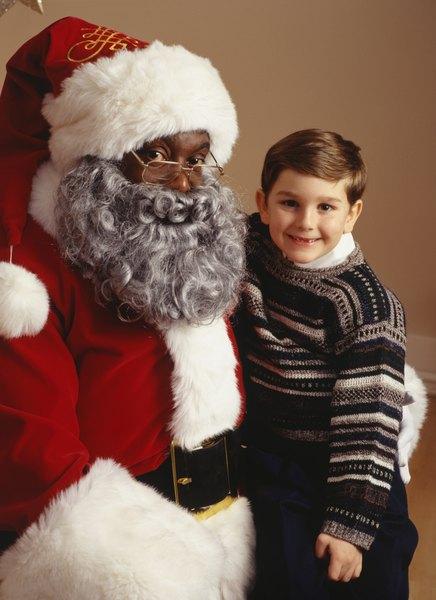 A mudança constante na aparência do Papai Noel assusta as crianças