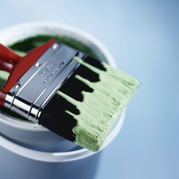 How to Clean Semi Gloss Paint Off a Brush | Home Guides | SF