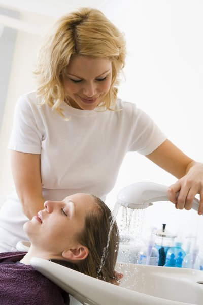 Cosmetologists spend a lot of time on their feet treating clients.