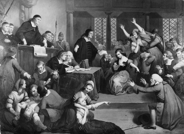 The witch trials of the crucible use terror to generate false confessions