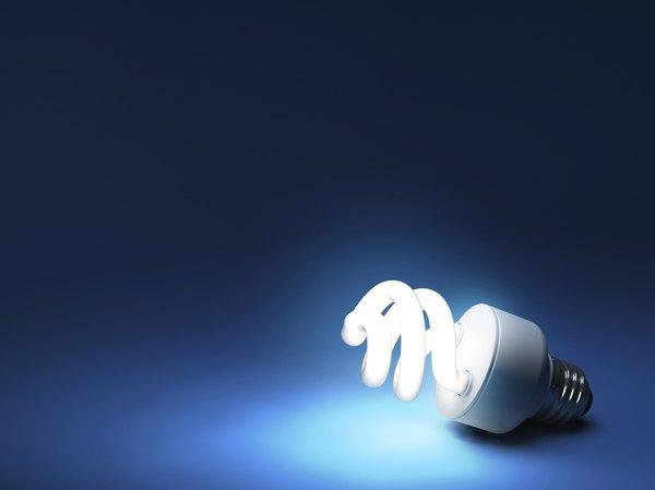 Use energy efficient light bulbs.