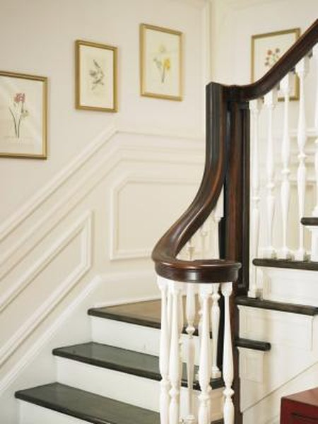 How To Connect The Stair Railing Landing