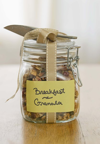 Coconut is a common addition to granola.
