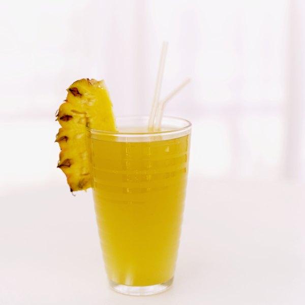 El jugo de piña es un diurético natural.