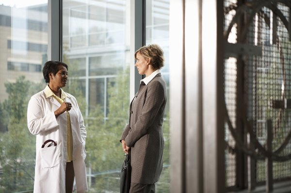 The COO is often responsible for physician relations.