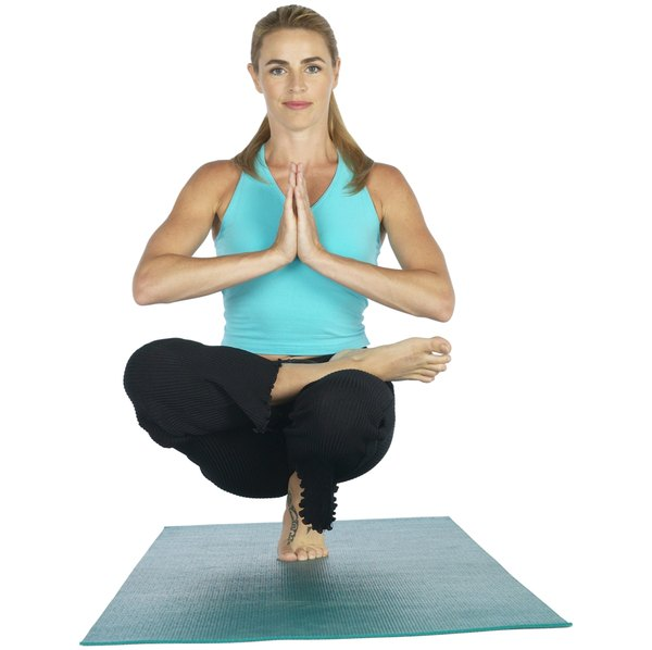 The Toe Stand Is A Challenging Bikram Yoga Posture