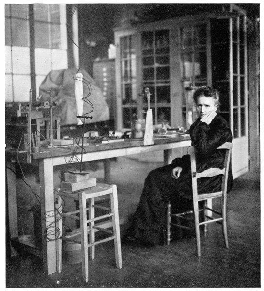 Marie Curie foi a primeira mulher a ganhar um Prêmio Nobel