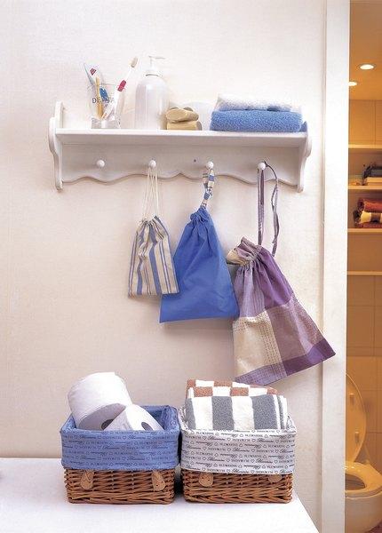 Cestos para armazenar decoram e são úteis