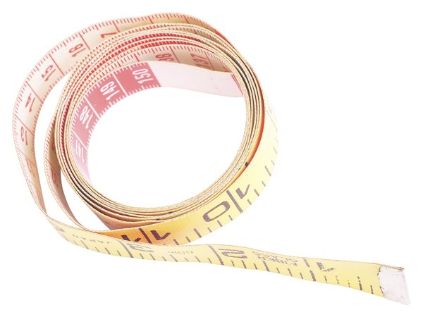 A flexible measuring tape will help you get exact measurements.