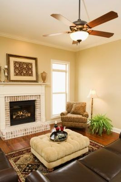 living room ceiling fan light how to coordinate ceiling fans lights home guides sf gate