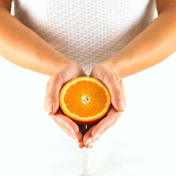 A laranja é o alimento mais rico em vitamina C