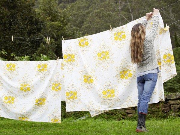 Las sábanas de algodón orgánico son perfectas para los ambientalistas.
