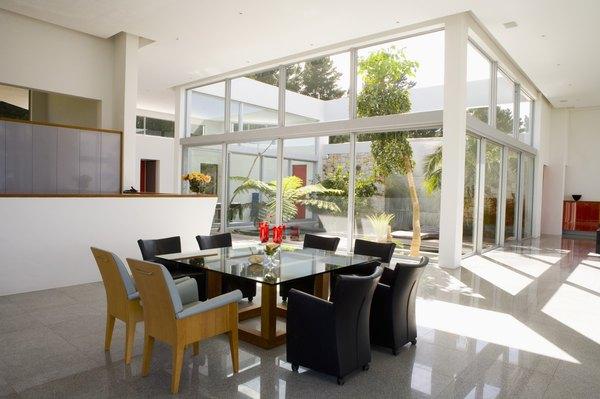 El blanco, ideal para un espacio minimalista.