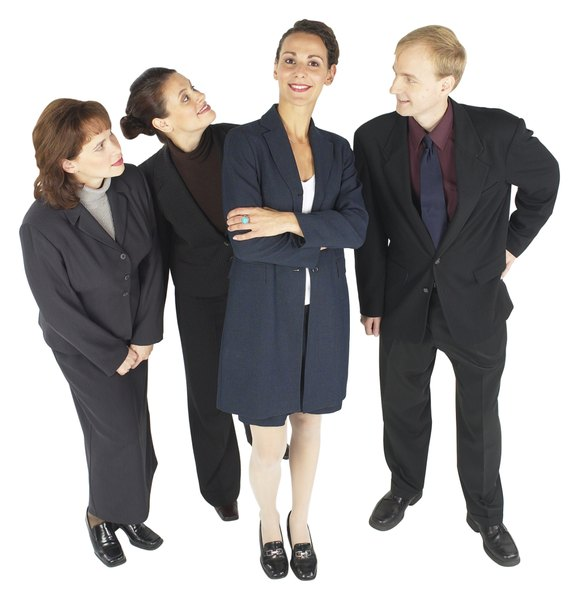 A General Job Description For Business Managers  Woman