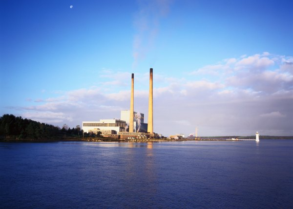 Industrial plants are powered by electrical energy