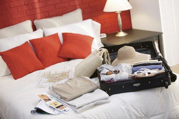 Arrume as malas com antecedência